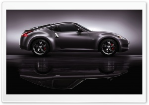 Nissan 350Z Side View HD Wide Wallpaper for Widescreen