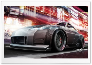 Nissan 350Z Tuning HD Wide Wallpaper for Widescreen