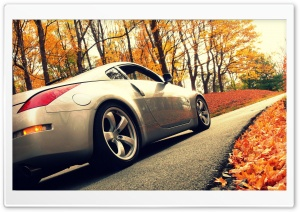 Nissan 350Z Wheel HD Wide Wallpaper for Widescreen