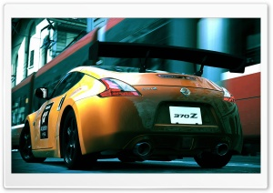 Nissan 370Z Rear HD Wide Wallpaper for Widescreen