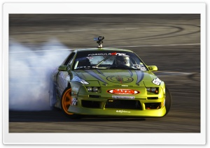 Nissan Drifting HD Wide Wallpaper for Widescreen