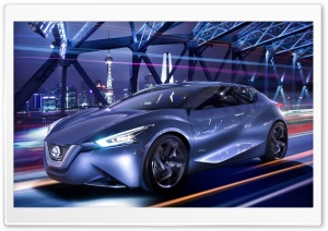 Nissan Friend-ME Concept Car 2013 HD Wide Wallpaper for Widescreen