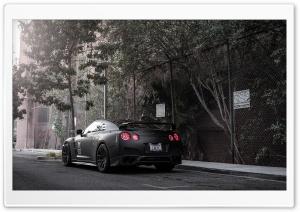 Nissan GT-R Black HD Wide Wallpaper for 4K UHD Widescreen desktop & smartphone