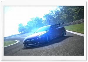 Nissan GT-R Drift HD Wide Wallpaper for Widescreen