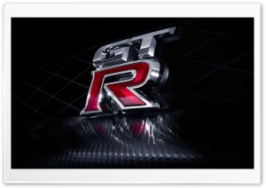 Nissan GT R Logo HD Wide Wallpaper for Widescreen
