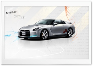 Nissan GTR R35 Ultra HD Wallpaper for 4K UHD Widescreen desktop, tablet & smartphone