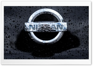 Nissan Logo HD Wide Wallpaper for Widescreen