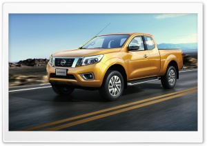 Nissan Navara pickup truck Ultra HD Wallpaper for 4K UHD Widescreen desktop, tablet & smartphone