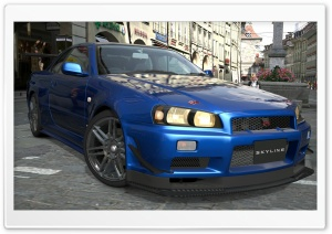 Nissan Skyline R34 HD Wide Wallpaper for Widescreen