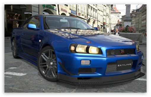 Nissan Skyline R34 Ultra Hd Desktop Background Wallpaper For 4k Uhd Tv Widescreen Ultrawide Desktop Laptop Tablet Smartphone