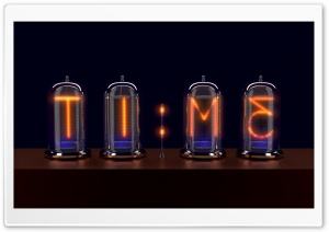 Nixie Tubes Ultra HD Wallpaper for 4K UHD Widescreen desktop, tablet & smartphone