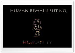 No Humanity Ultra HD Wallpaper for 4K UHD Widescreen desktop, tablet & smartphone