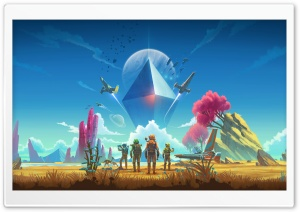 No Man s Sky 2018 video game Ultra HD Wallpaper for 4K UHD Widescreen desktop, tablet & smartphone