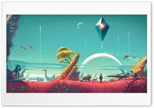 No Mans Sky HD Wide Wallpaper for 4K UHD Widescreen desktop & smartphone