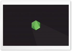 Node.js Hexagon HD Wide Wallpaper for Widescreen