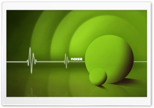 Noise Green HD Wide Wallpaper for Widescreen