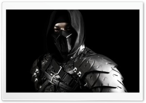 Noob Saibot Cosplay HD Wide Wallpaper for Widescreen