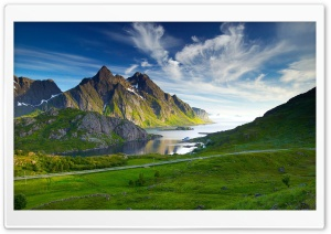 Nordic Landscape Ultra HD Wallpaper for 4K UHD Widescreen desktop, tablet & smartphone