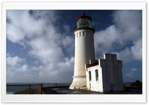 North Headlight House HD Wide Wallpaper for Widescreen