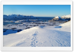 North Norway, the Sea HD Wide Wallpaper for 4K UHD Widescreen desktop & smartphone