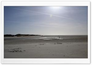 North Sea beach HD Wide Wallpaper for Widescreen