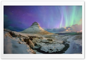Northern Aurora Lights HD Wide Wallpaper for 4K UHD Widescreen desktop & smartphone