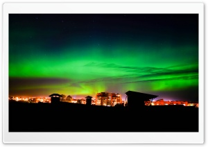 Northern Lights, Aurora Borealis HD Wide Wallpaper for Widescreen
