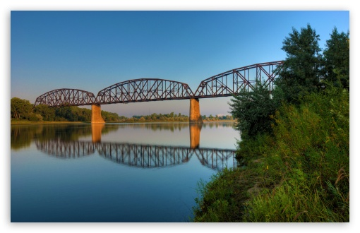 Northern Pacific Railroad Bridge at Bismarck, North Dakota HD wallpaper for Wide 16:10 5:3 Widescreen WHXGA WQXGA WUXGA WXGA WGA ; HD 16:9 High Definition WQHD QWXGA 1080p 900p 720p QHD nHD ; Standard 4:3 5:4 3:2 Fullscreen UXGA XGA SVGA QSXGA SXGA DVGA HVGA HQVGA devices ( Apple PowerBook G4 iPhone 4 3G 3GS iPod Touch ) ; Tablet 1:1 ; iPad 1/2/Mini ; Mobile 4:3 5:3 3:2 16:9 5:4 - UXGA XGA SVGA WGA DVGA HVGA HQVGA devices ( Apple PowerBook G4 iPhone 4 3G 3GS iPod Touch ) WQHD QWXGA 1080p 900p 720p QHD nHD QSXGA SXGA ; Dual 4:3 5:4 UXGA XGA SVGA QSXGA SXGA ;
