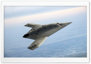 Northrop Grummans X-47B Pegasus HD Wide Wallpaper for 4K UHD Widescreen desktop & smartphone