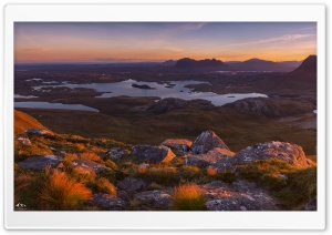 Northwest Highlands, Scotland HD Wide Wallpaper for 4K UHD Widescreen desktop & smartphone