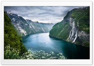 Norway Fjord Ultra HD Wallpaper for 4K UHD Widescreen desktop, tablet & smartphone