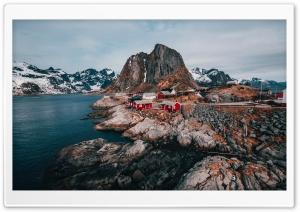 Norway Lofoten Islands Drone...