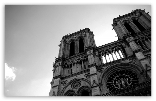 Notre Dame HD wallpaper for Standard 4:3 5:4 Fullscreen UXGA XGA SVGA ...