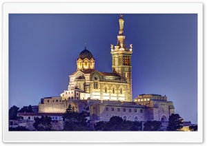 Notre Dame De La Garde HD Wide Wallpaper for Widescreen