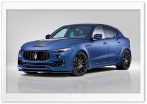 Novitec Maserati Levante Esteso 2017 Ultra HD Wallpaper for 4K UHD Widescreen desktop, tablet & smartphone