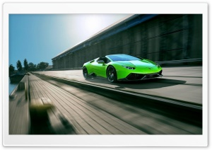 Novitec Torado Lamborghini Huracan Spyder 2016 HD Wide Wallpaper for Widescreen