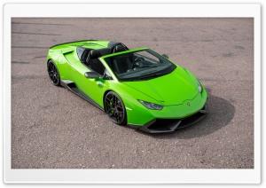Novitec Torado Lamborghini Huracan Spyder 2016 Ultra HD Wallpaper for 4K UHD Widescreen desktop, tablet & smartphone