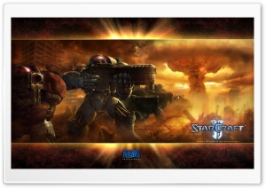 Nuke, Starcraft 2 HD Wide Wallpaper for Widescreen