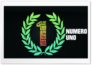 NUMERO UNO HD Wide Wallpaper for Widescreen