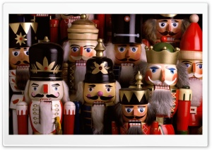 Nutcracker Troop HD Wide Wallpaper for Widescreen