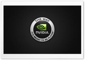 Nvidia HD Wide Wallpaper for Widescreen