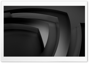 nVidia, Gray HD Wide Wallpaper for Widescreen