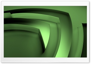 nVidia, Green HD Wide Wallpaper for Widescreen