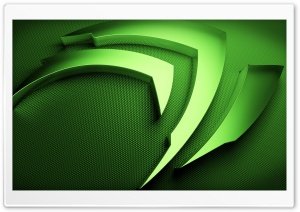 Nvidia Shape Green HD Wide Wallpaper for Widescreen