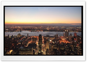 NY Landscape HD Wide Wallpaper for Widescreen