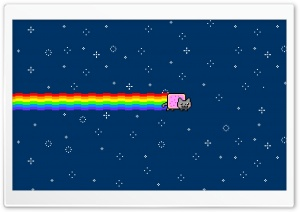 Nyan Cat HD Wide Wallpaper for Widescreen