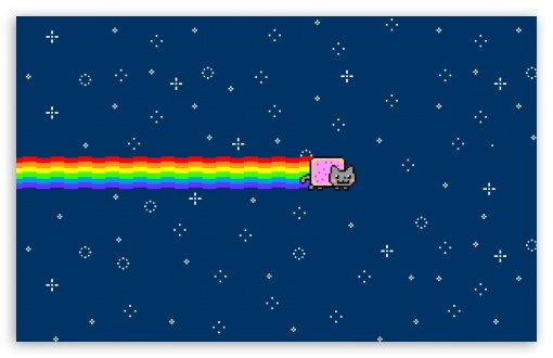 Nyan Cat HD wallpaper for Wide 16:10 5:3 Widescreen WHXGA WQXGA WUXGA WXGA WGA ; HD 16:9 High Definition WQHD QWXGA 1080p 900p 720p QHD nHD ; Standard 4:3 5:4 3:2 Fullscreen UXGA XGA SVGA QSXGA SXGA DVGA HVGA HQVGA devices ( Apple PowerBook G4 iPhone 4 3G 3GS iPod Touch ) ; Tablet 1:1 ; iPad 1/2/Mini ; Mobile 4:3 5:3 3:2 16:9 5:4 - UXGA XGA SVGA WGA DVGA HVGA HQVGA devices ( Apple PowerBook G4 iPhone 4 3G 3GS iPod Touch ) WQHD QWXGA 1080p 900p 720p QHD nHD QSXGA SXGA ;