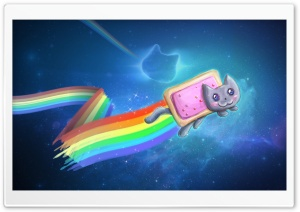 Nyan Cat HD Wide Wallpaper for 4K UHD Widescreen desktop & smartphone
