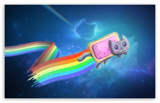 Nyan Cat ❤ 4K UHD Wallpaper for Wide 16:10 5:3 Widescreen WHXGA WQXGA WUXGA WXGA WGA ; 4K UHD 16:9 Ultra High Definition 2160p 1440p 1080p 900p 720p ; Standard 4:3 5:4 3:2 Fullscreen UXGA XGA SVGA QSXGA SXGA DVGA HVGA HQVGA ( Apple PowerBook G4 iPhone 4 3G 3GS iPod Touch ) ; iPad 1/2/Mini ; Mobile 4:3 5:3 3:2 16:9 5:4 - UXGA XGA SVGA WGA DVGA HVGA HQVGA ( Apple PowerBook G4 iPhone 4 3G 3GS iPod Touch ) 2160p 1440p 1080p 900p 720p QSXGA SXGA ;