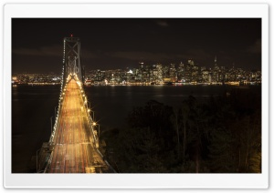 Oakland Bay Bridge, San Francisco HD Wide Wallpaper for Widescreen